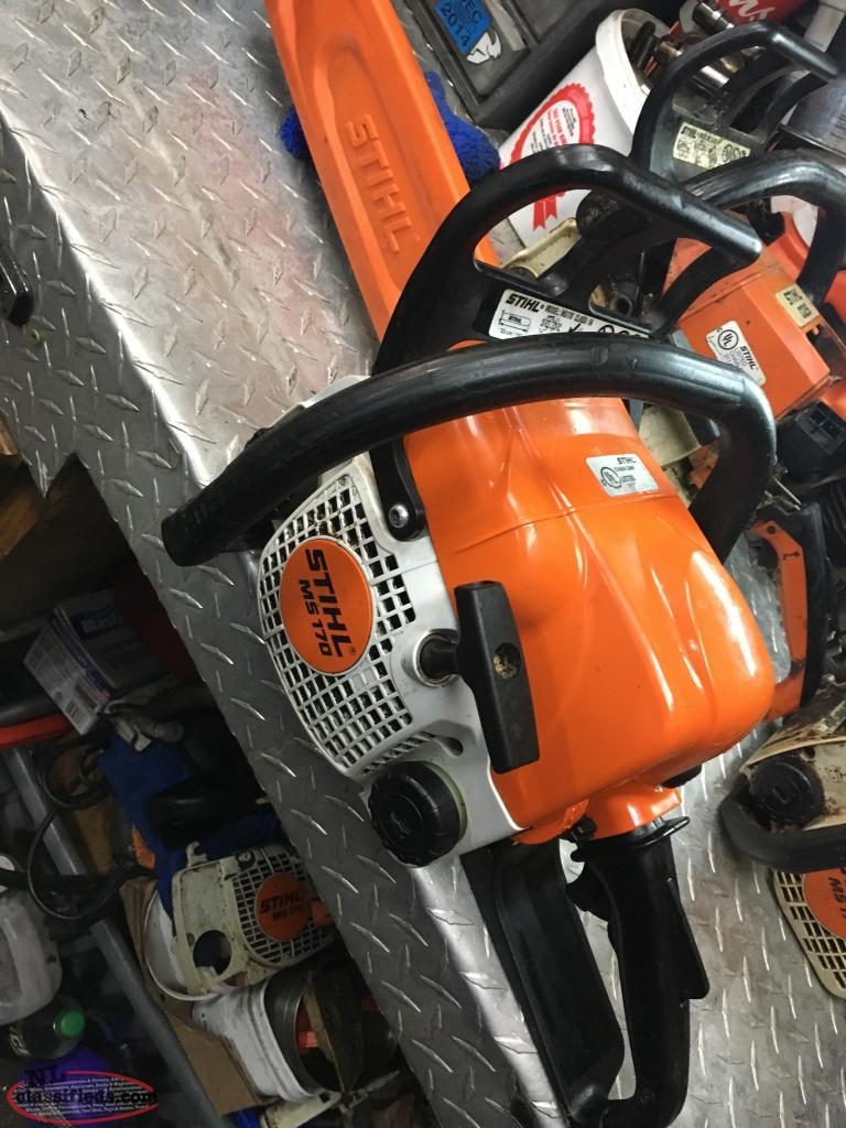 STIHL & HUSQVARNA CHAINSAWS & LARGE ASSORTMENT OF PARTS FOR SALE