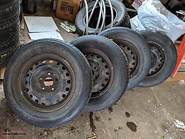 Tires on Rims - all season - 2010 Dodge caravan 225/65/r16
