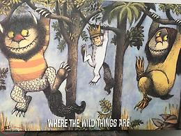 Canvas wall Art Where the Wild Things Are
