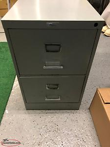 3 filing cabinets