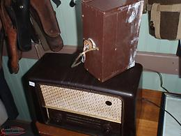 rca radio with power supply