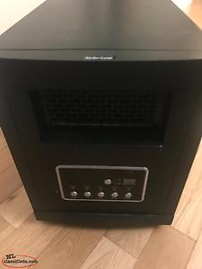 Heater with multiple settings and not used much at all (in excellent condition)