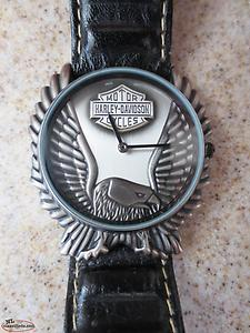 Harley-Davidson 96014 Screaming Eagle Pewter by Bulova