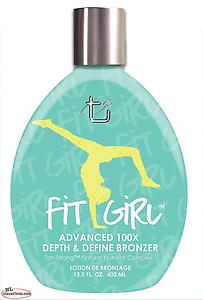 NEW! Tan Strong Brown Sugar Fit Girl 400ML Tanning lotion Advanced 100x Bronzer