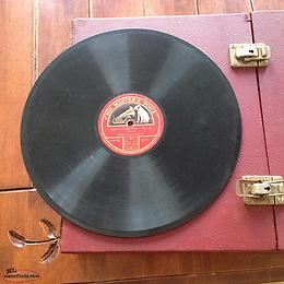 Gramophone record his masters voice valse in E flat major-Op.18