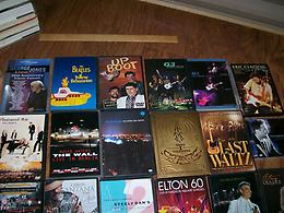 70 DVD Concerts in excellent condition. I have more besides these, many 2-dvd se