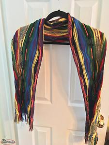 Women's Colourful Cardigan with Matching Scarf — NEW PRICE