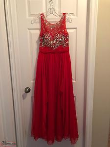Exquisite Red Prom Dress