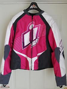 Ladies Icon Motorcycle Jacket