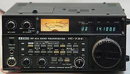 ICOM 720A Multi-Mode General Coverage Transceiver with original Hand mic