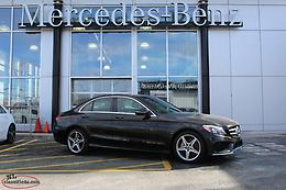 2018 Mercedes-Benz C300 4Matic DEMO - Free winter tires