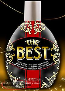 NEW! Millennium THE BEST TANNING LOTION INDOOR/OUTDOOR FORMULA 13.5OZ 400ML