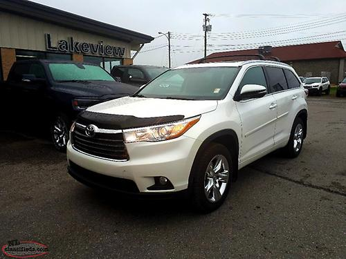 2015 Toyota Highlander Limited Awd W Leather Nav Panoramic