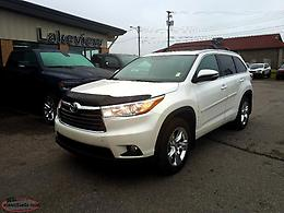 2015 Toyota Highlander Limited AWD w/ Leather + NAV + Panoramic Sunroof
