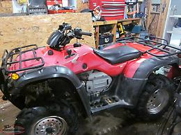 PARTING OUT 2005 HONDA 400 FORMAN
