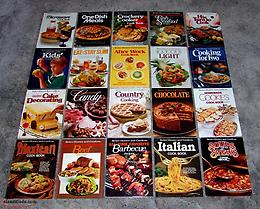 Better Homes and Gardens Cookbooks. Lot of 20. Nice Condition.