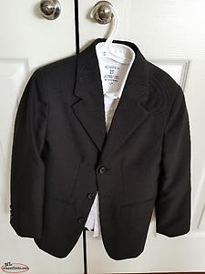 Size 8 Black Dress Coat