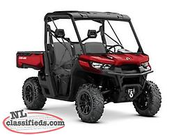SPRING SAVINGS - SAVE $3,800 on a BRAND NEW 2018 Can-Am Defender XT HD10!