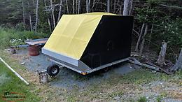 Trail Rider ALUMINUM SNOWMOBILE TRAILER 8X10