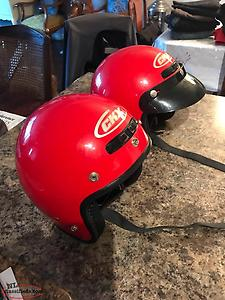 Two CKX Helmets