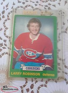 larry robinson rookie card