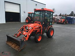 Used 2013 CK20 Kioti Tractor with Cab
