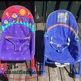 2 Fisher Price Infant Rockers