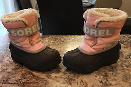 SOREL winter boots size 10 toddler girls