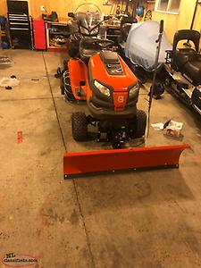 PRICED REDUCED MUST GO Snow Plow For Lawn Tractor Tractor