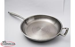 REDUCED Browne-Halco Commercial Induction 14 in. Fry Pan w/Helper Handle 5724054