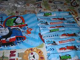 new set of THOMAS THE TRAIN TWIN SHEET SET. NEVER USED, BUT OUT OF PACKAGE.