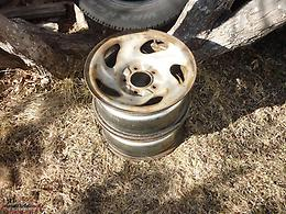 2 16IN. STEEL RIMS 5 HOLES OFF 2003 FORD F-150 P/UP