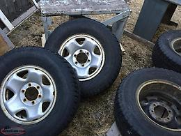 Used Tires / Rims For Toyota Tacoma Truck - Reduced