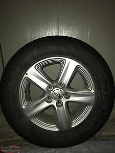 4 rims and tires for sale