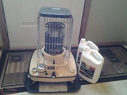 Heater and kerosene for sale