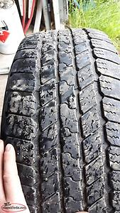 4 Goodyear tires 265 65 18