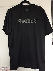 Black Reebok NEW t-shirt