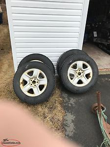 2009 RAV4 Studded Winter Tires and Rims