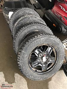 "17"" Winter Rims And Tires"
