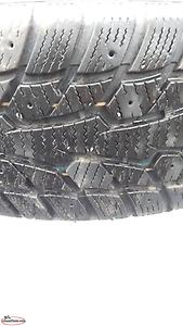Qty. 4 - 205/55R16 Winter Tires & Tims (tires only used for 2 months)