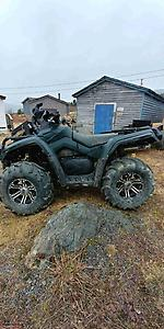 Alberta quad 2008 can am outlander 800