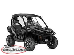 SPRING SAVINGS - SAVE $3,000 on a NEW 2019 Can-Am Commander Ltd. 1000 R!