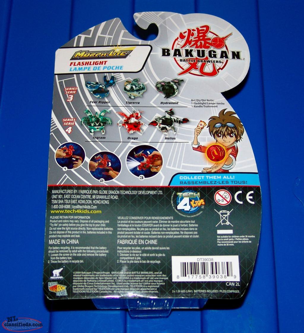 Bakugan Battle Brawlers Hydranoid Morph Light Figure New 2009