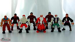 Fisher Price Imaginext Figures from 2001 to 2004