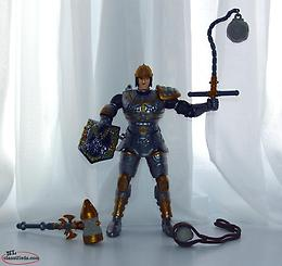 Bandai 1998 Mystic Knights Figure and Accessories