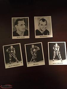 1964-65 Coca Cola hockey cards
