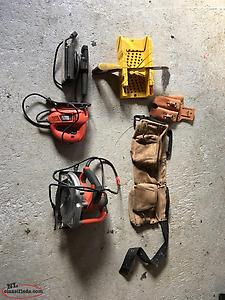Assortment Of Carpenter Tools