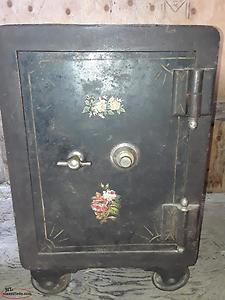Antique safe for sale.