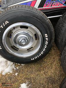 67 Corvette Rims And Tires