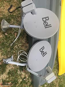 2 HD Bell dishes with Switch